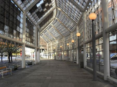 Free exterior of modern Shopping centers