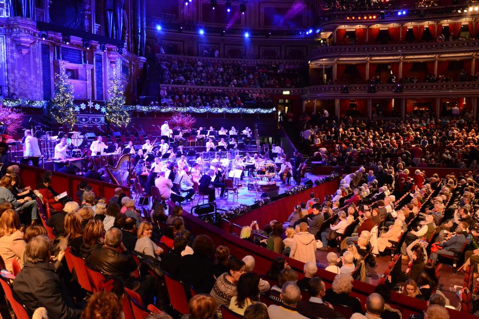 Free Christmas Concert in Royal Albert Hall