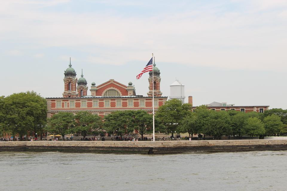 Free Ellis Island in New York harbor