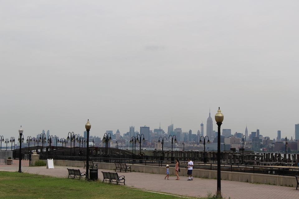 Free The New York City skyline from the Liberty State Park