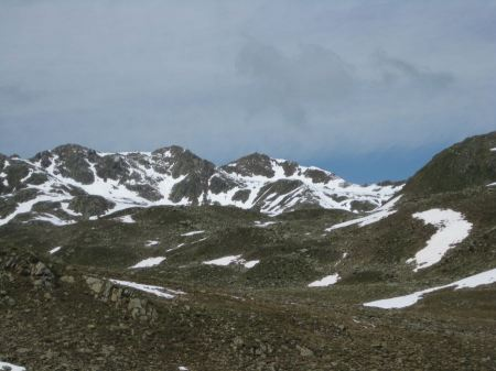 Free Landscape of Hochgall mountain