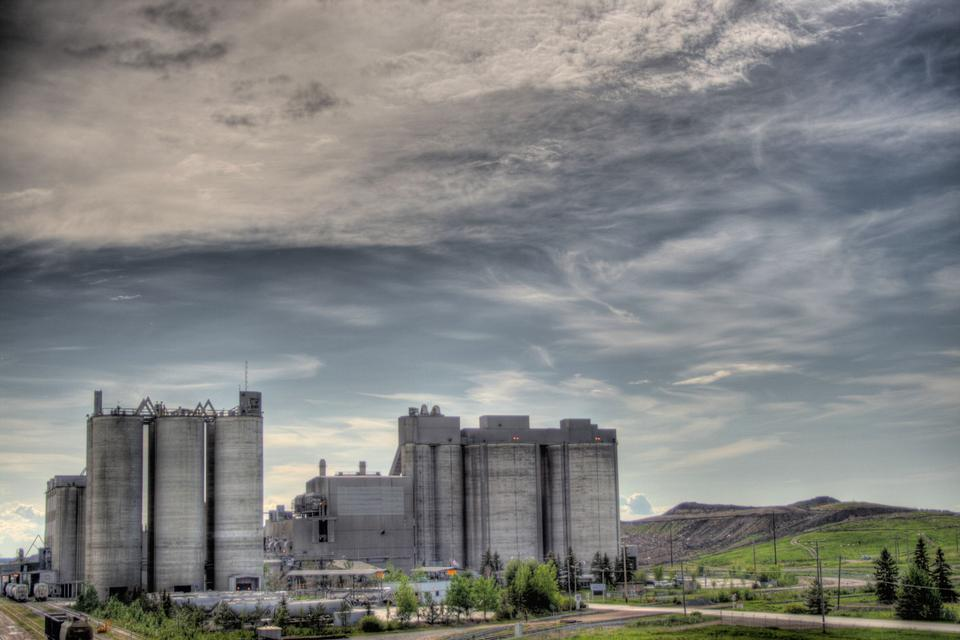 Free The Inland Cement Plant in Edmonton, Alberta, Canada