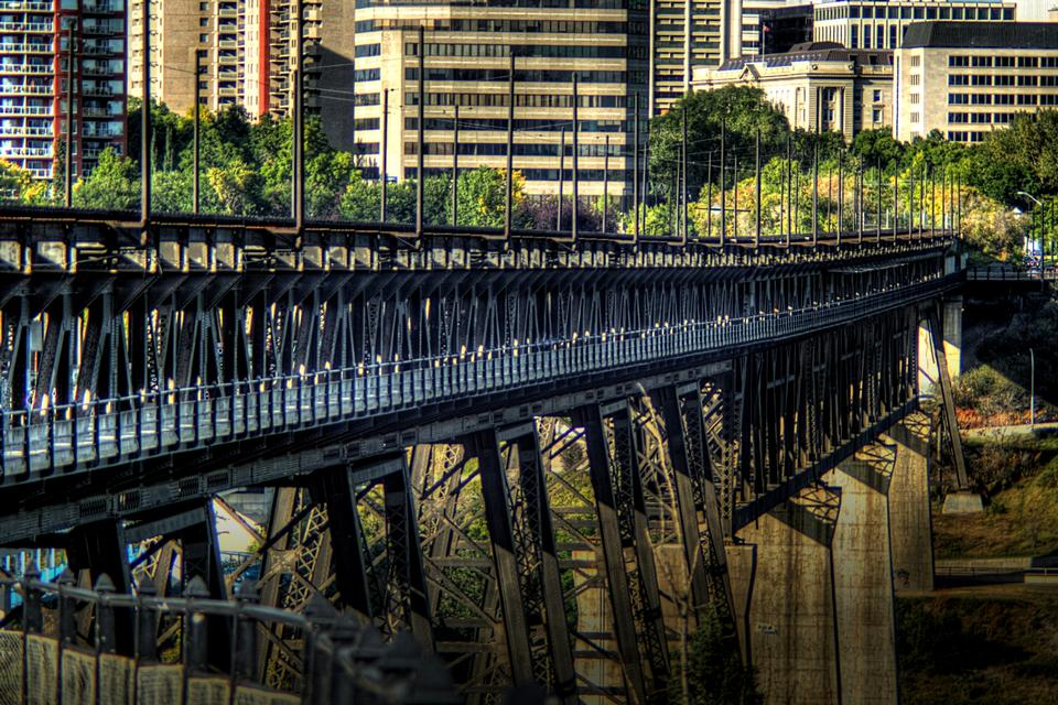 Free The High Level and Menzies Bridges in Edmonton, Alberta, Canada