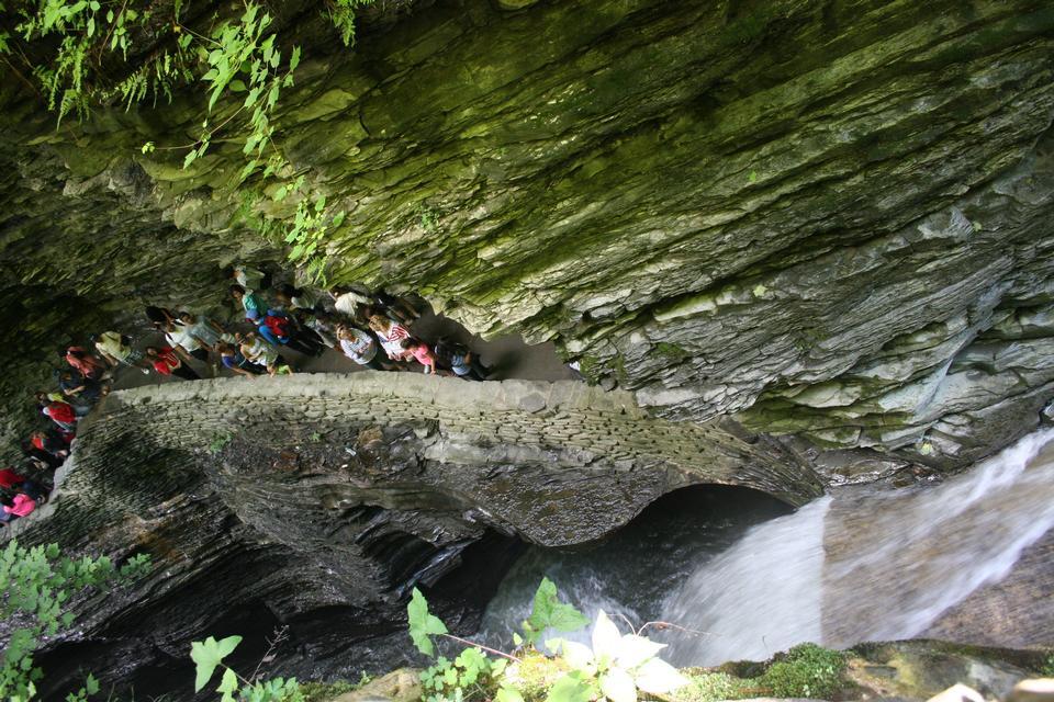 Free Watkins Glen Gorge Watkins Glen valley in woods with rocks