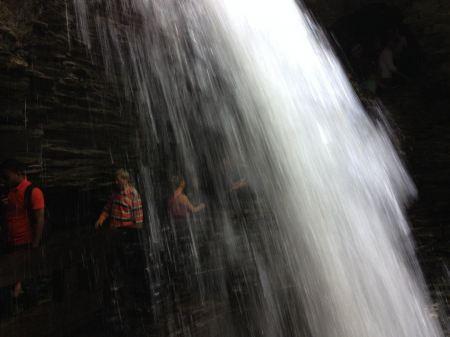 Free Watkins Glen Waterfall