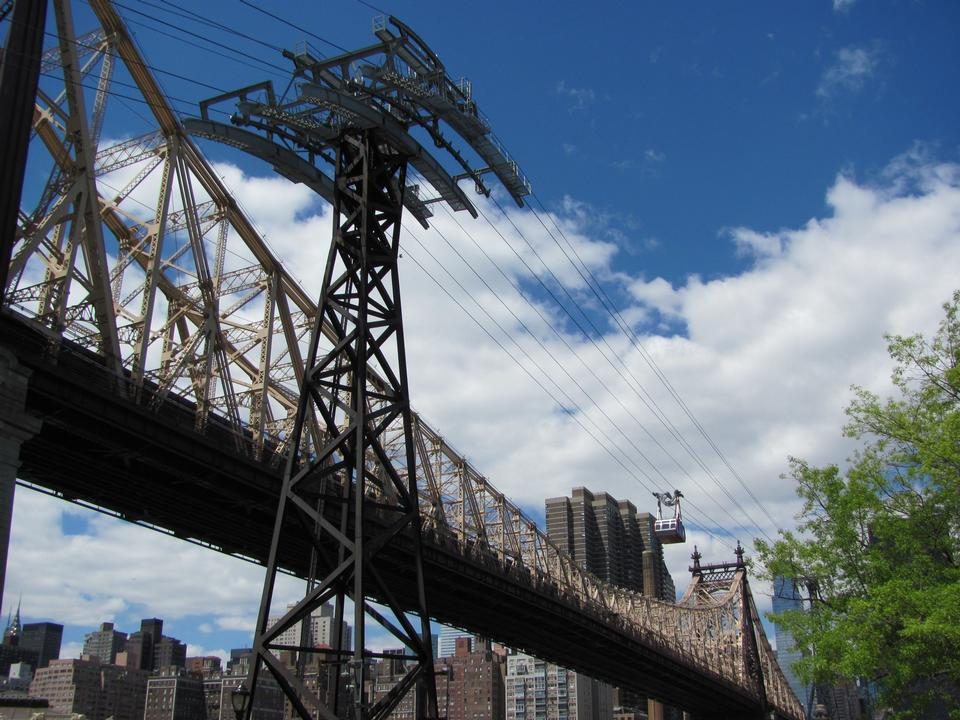 Free Roosevelt Island Tramway and Queensboro Bridge