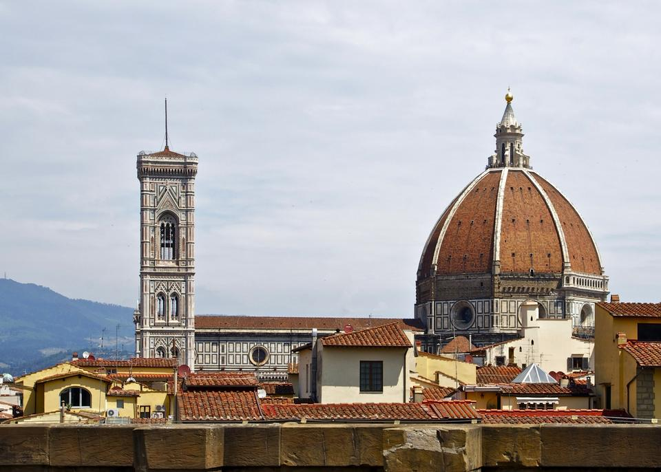 Free Duomo cathedral in Florence, Italy