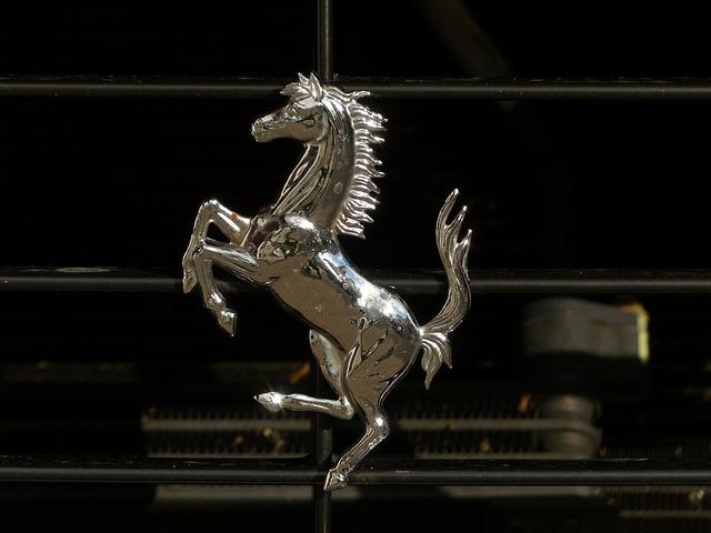 Free cavallino rampante ferrari seahorses fig metal