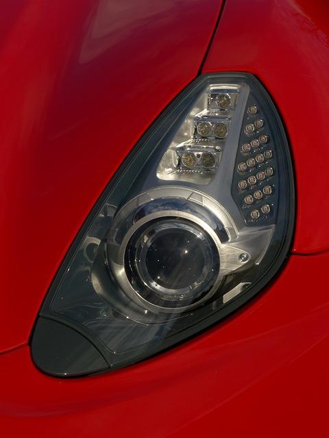 Free auto red ferrari fast sport sports car speed