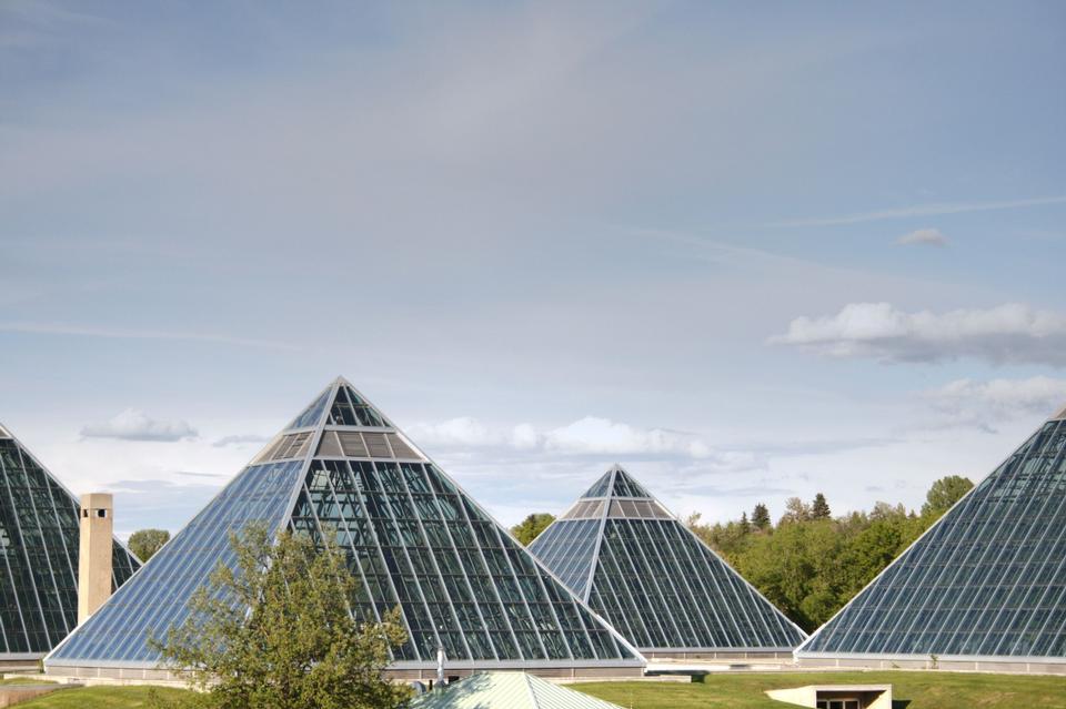 Free Muttart Conservatory in Edmonton, Alberta, Canada