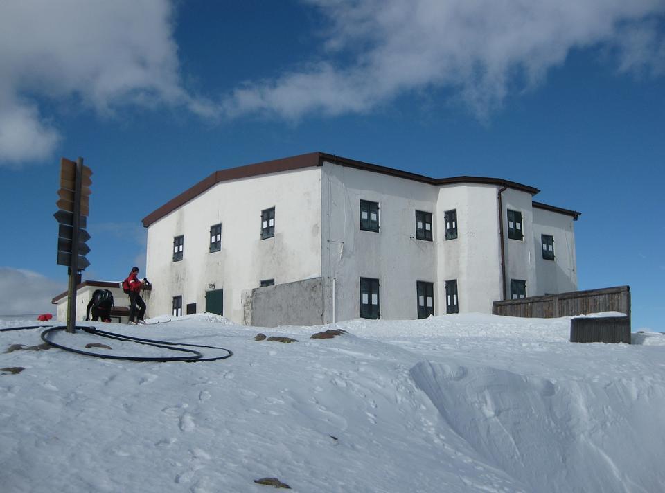 Free Beautiful winter mountain landscape - Rittner Horn, Italy