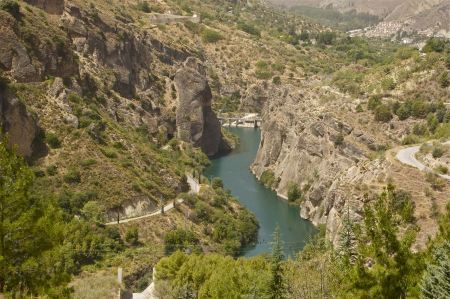 Free Rio Genil, from the Güejar-Sierra dam