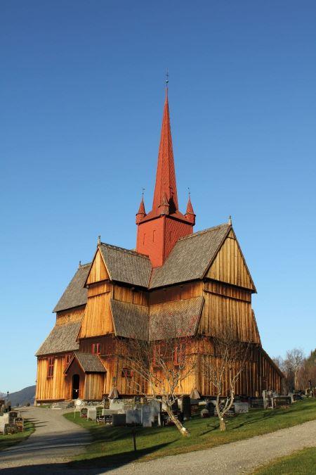 Free The Ringebu Stavkirke, Norway