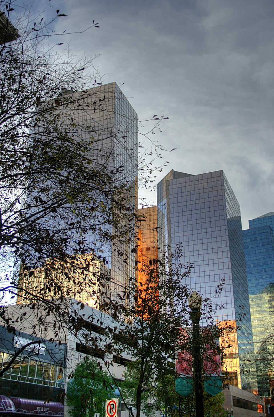 Free Office buildings in downtown Edmonton