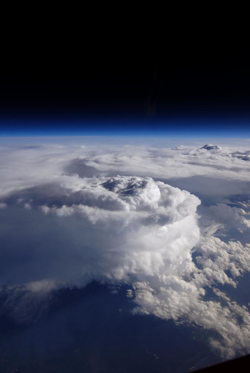 Free Storm Cell Over the Southern Appalachian Mountains