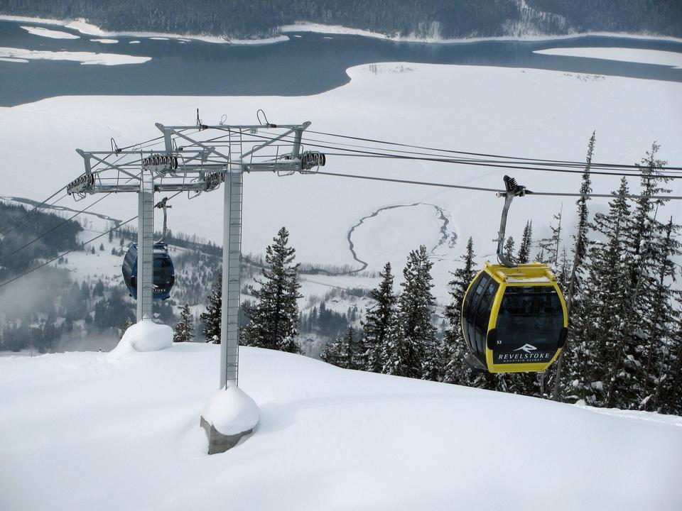 Free Revelstoke Mountain Resort British Columbia Canada