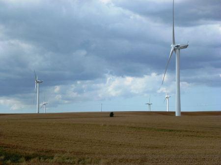Free wind turbines