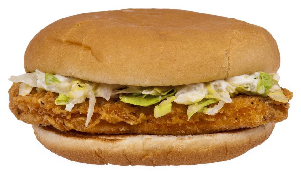 Free McDonald's McChicken sandwich