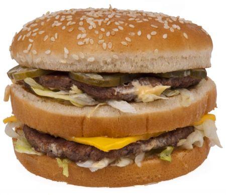 Free A McDonald's Big Mac hamburge