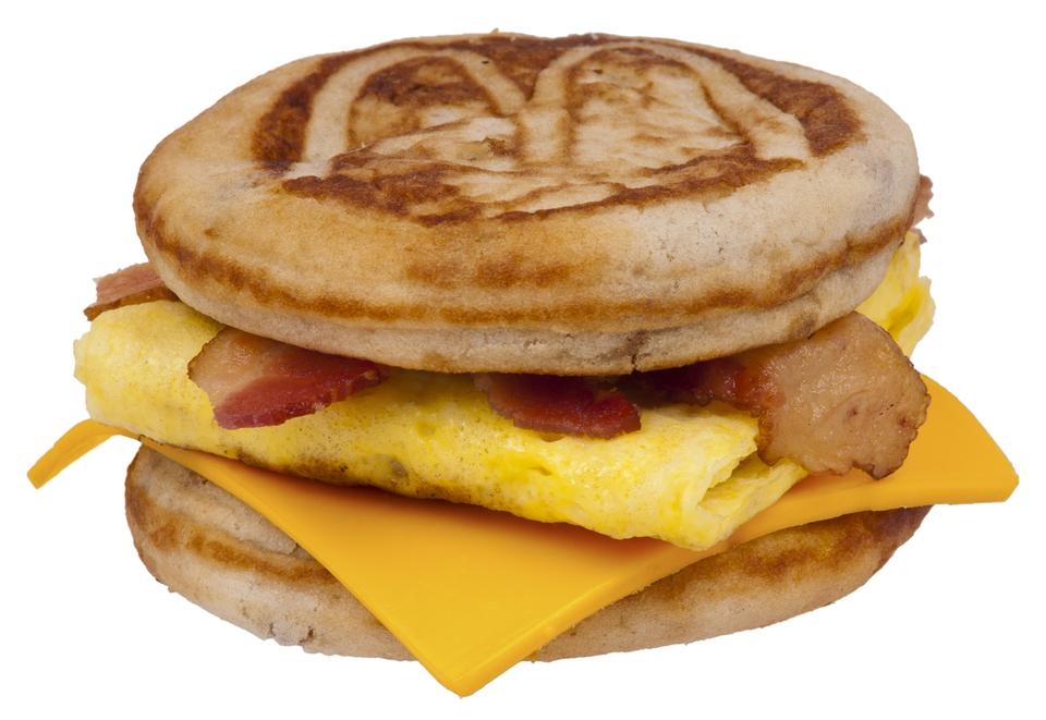 Free A Bacon, Egg & Cheese McGriddle