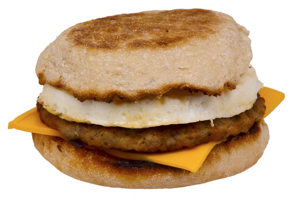 Free A Sausage Egg McMuffin
