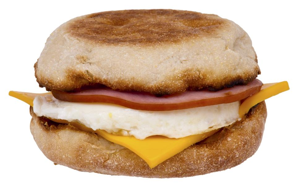 Free Egg McMuffin breakfast sandwich
