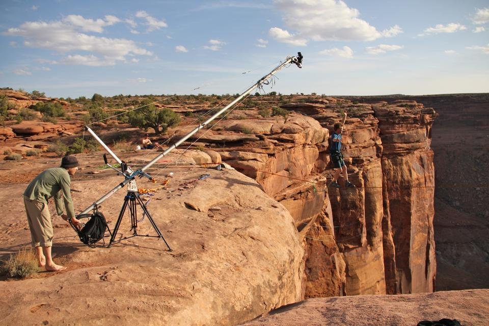 Free Reel Rock Film Tour on location in Moab, Utah