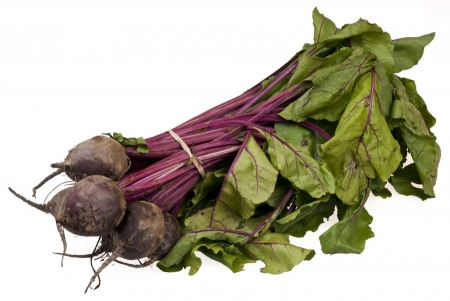 Free A bundle of organic beets