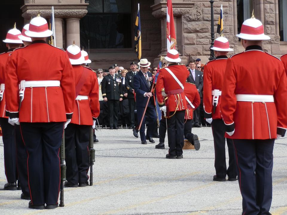 Free The Royal Canadian Regiment. Canada celebrates