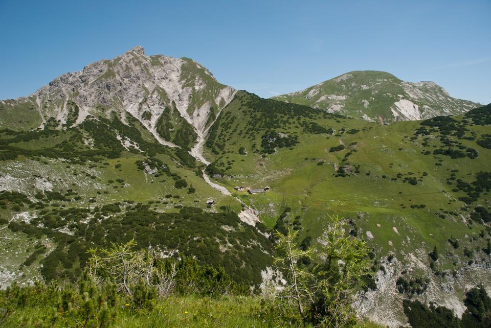 Free Mountains landscape in Rizuelhals, Austria