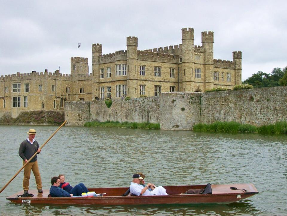 Free Punting Leeds Castle united kingdom