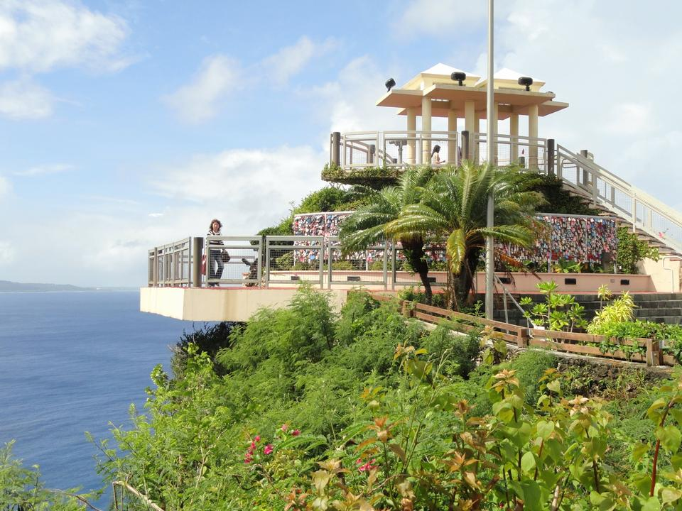 Free guam island two lovers point