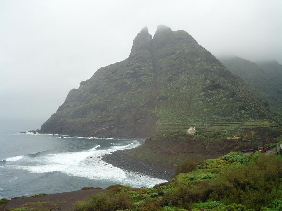 Free Punta Hidalgo in Tenerife Spain