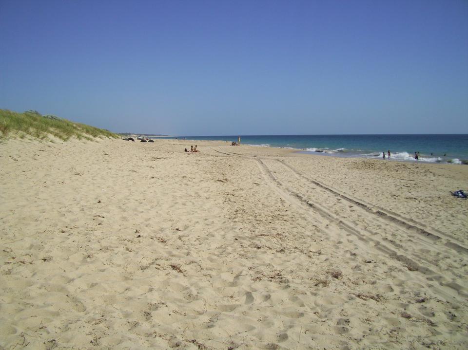Free Preston Beach at the seaside resort of Weymouth, Dorset