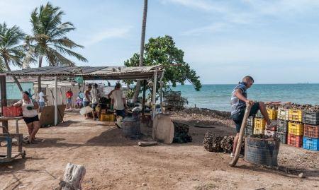 Free People in Isla de Margarita Island in Venezuela