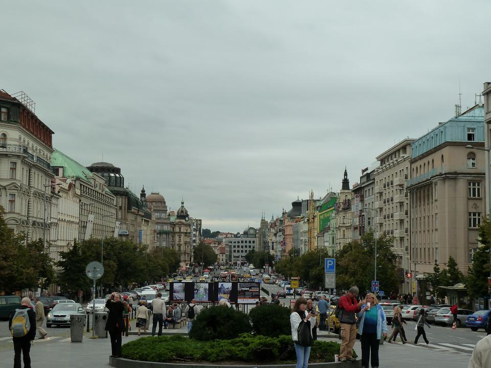 Free Street of Prague Rytirska Praga