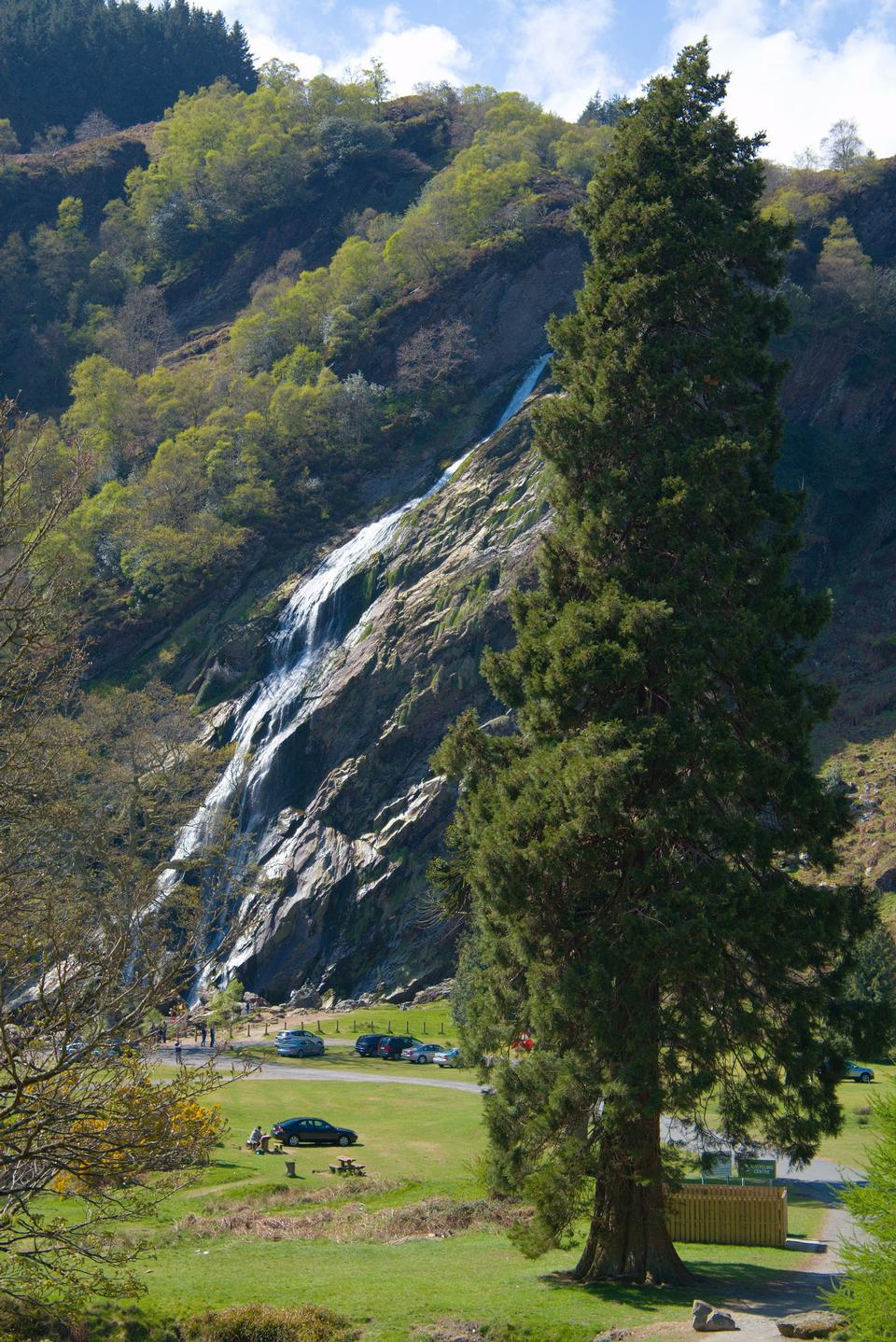Free Powerscourt Waterfall, County Wicklow, Ireland