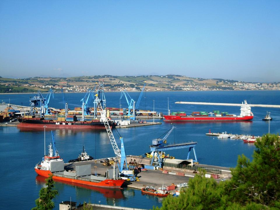 Free port of Ancona Italy