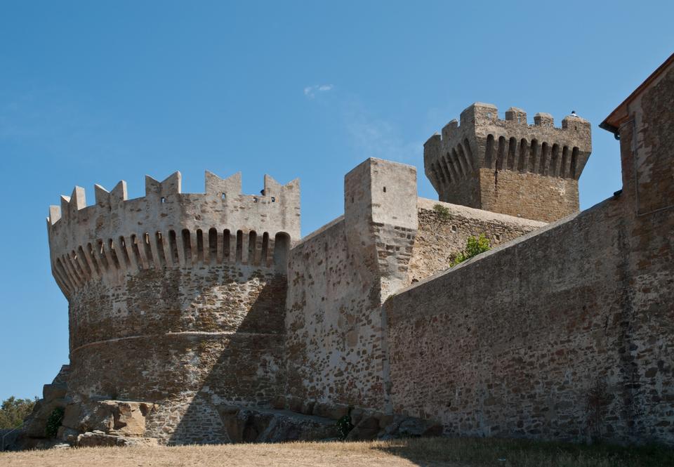 Free Populonia medieval village landmark
