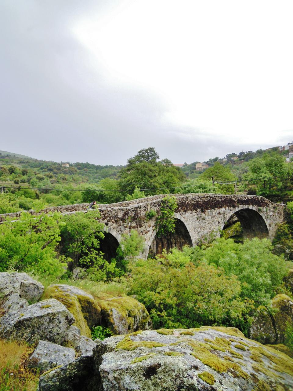 Free Old Bridge in San Esteban Monastery