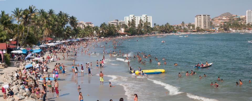 Free Pampatar beach in venezuela