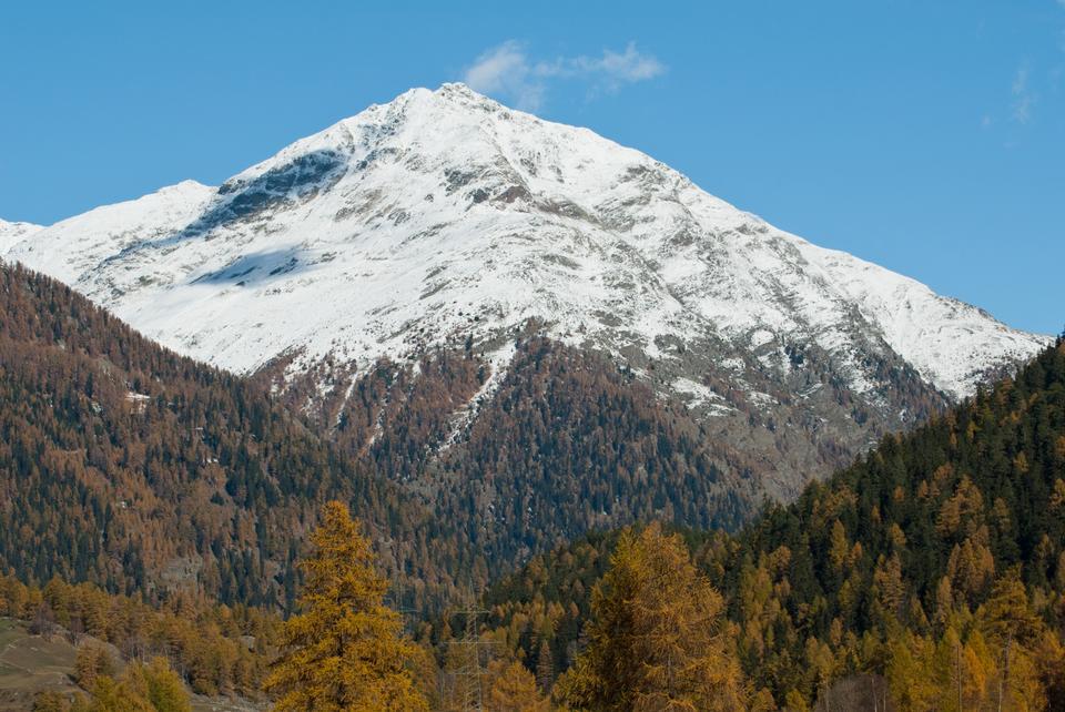 Free Photos: Piz Chapisun Mountain | publicdomain