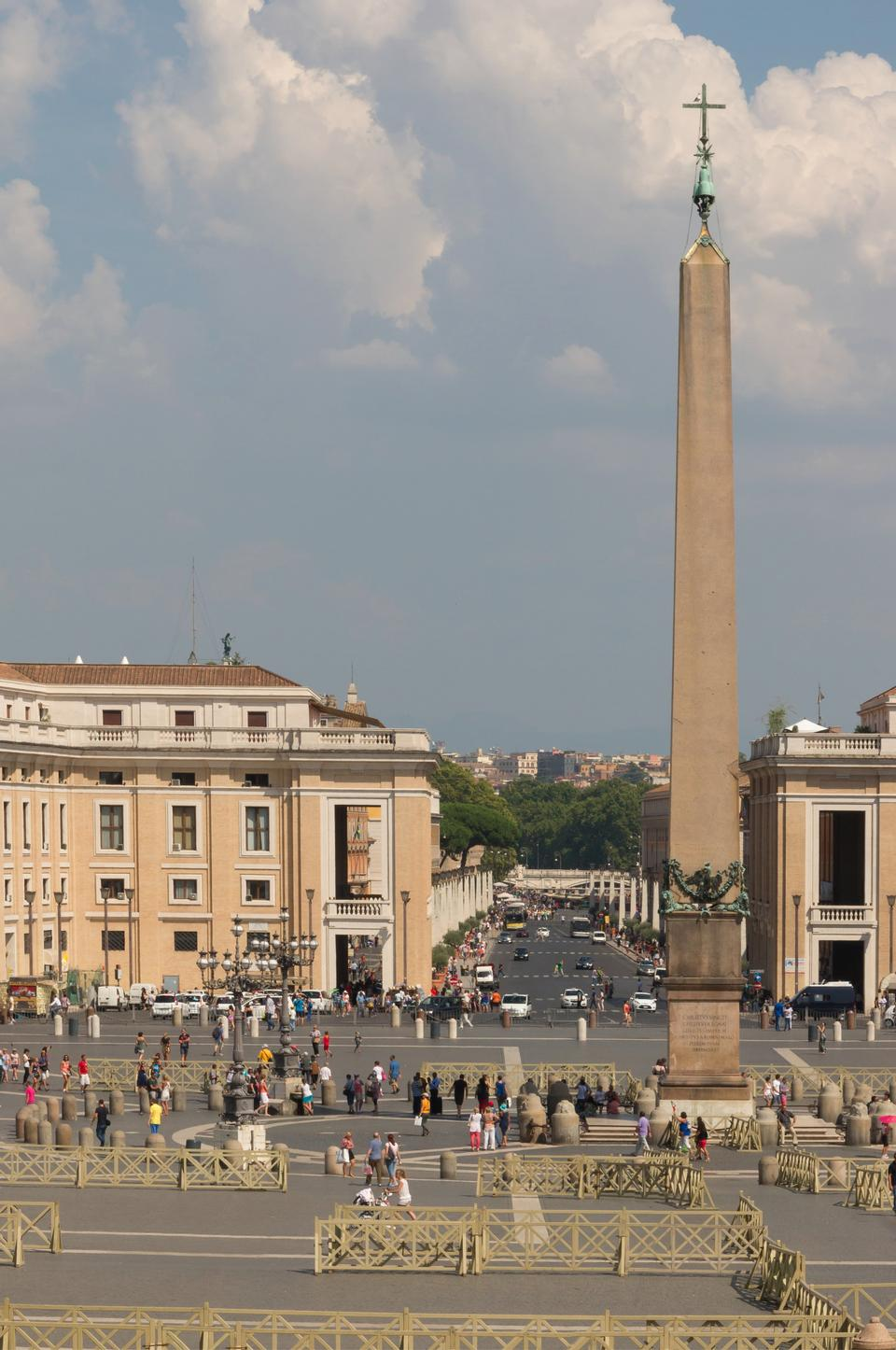 Free Saint Peter's Square views