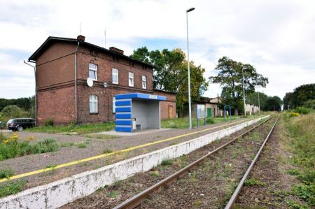 Free Vintage Train Station in Pezinie