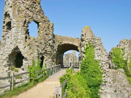 Free pevensey castle ruins pevensey england