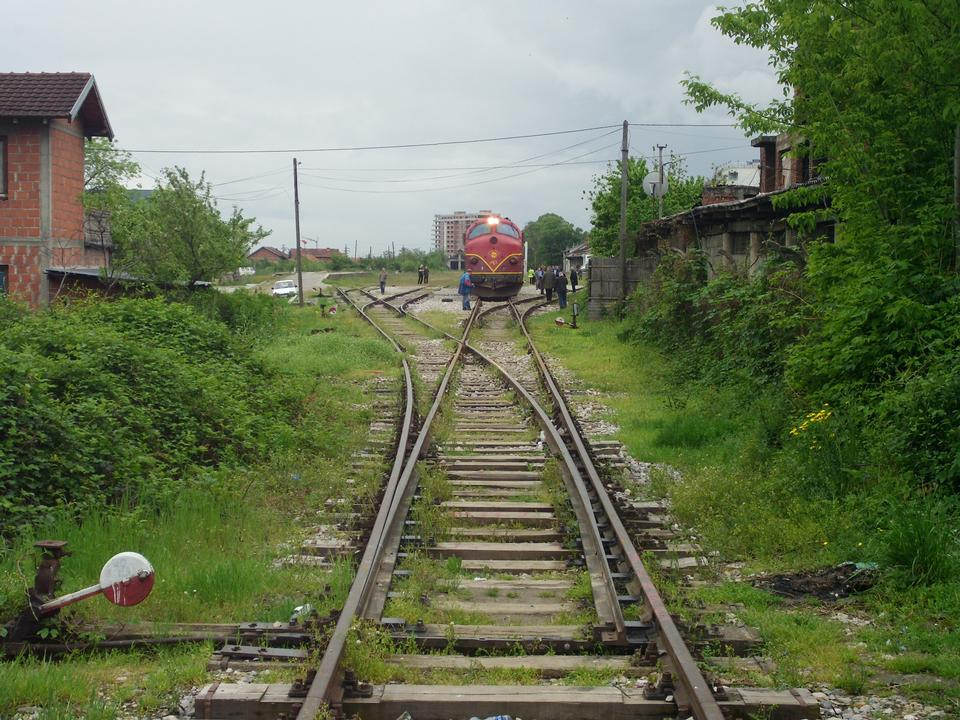 Free Small railway station Peja Kosovo