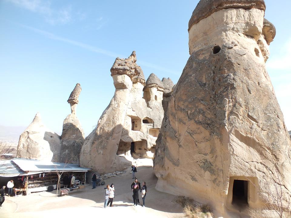 Free Pasabag Valley is located near Goreme, Cappadocia, Turkey