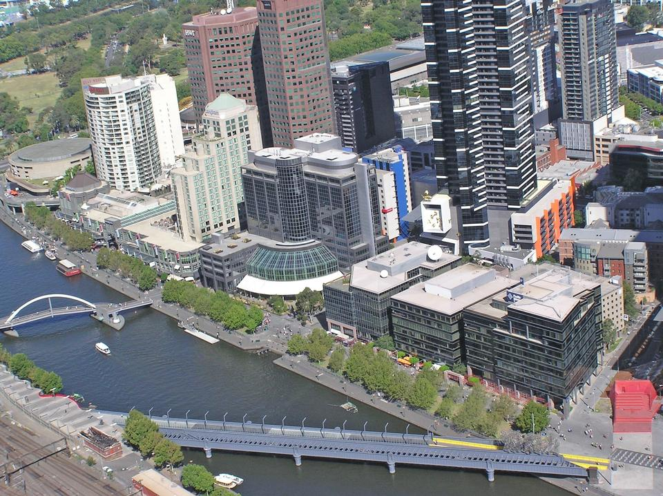 Free Aerial View Sandridge Bridge