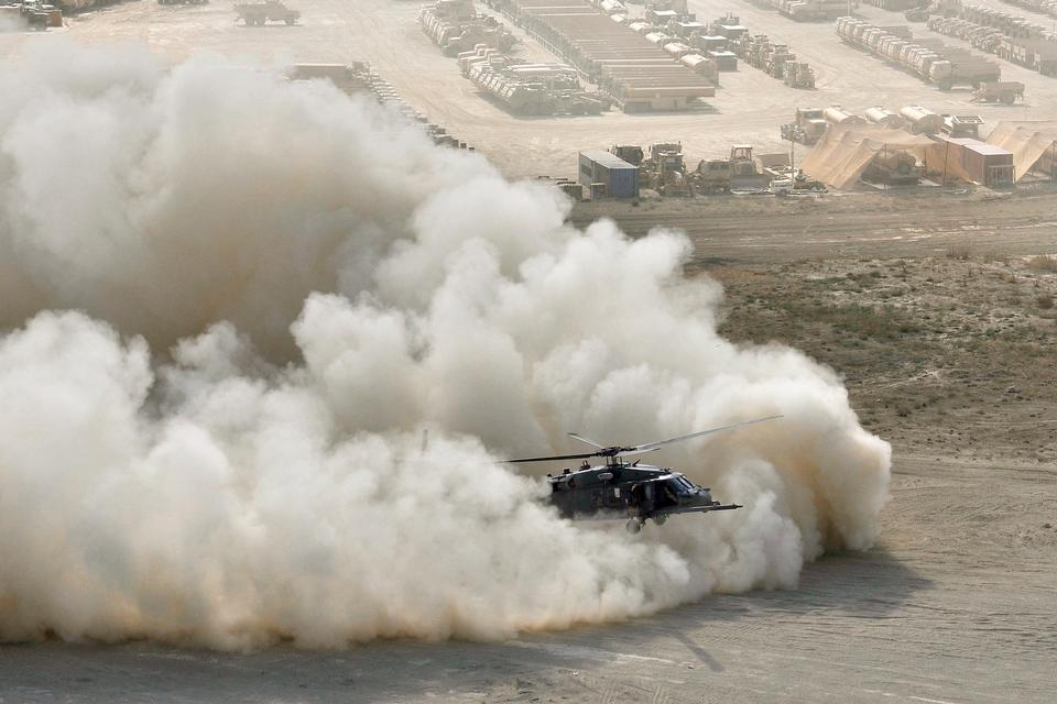 Free An HH-60G Pave Hawk helicopter