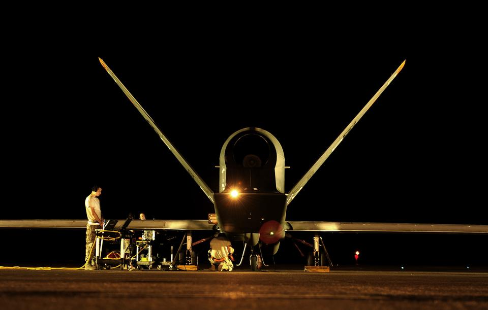 Free Global Hawk prepares for flying mission